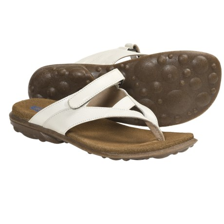 Wolky Heaven Sandals - Leather (For Women) in Off White 2 Tone