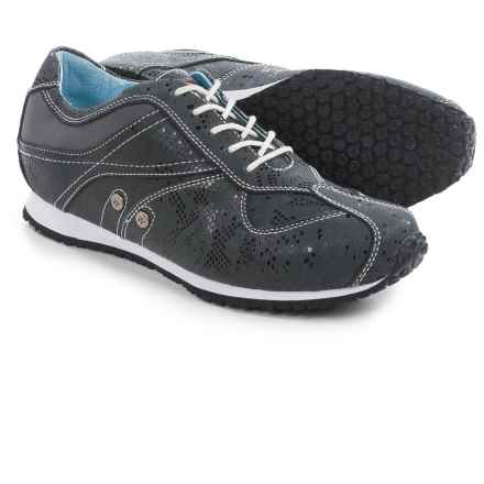 Wolky Ibrox Sneakers - Leather (For Women) in Black - Closeouts