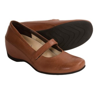 Wolky Lenox Mary Jane Shoes (For Women) in Brandy