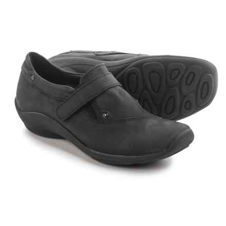 Wolky Louise Shoes - Leather, Slip-Ons (For Women) in Black - Closeouts