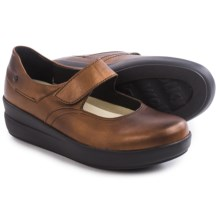 Wolky Lundy Mary Jane Shoes - Leather (For Women) in Copper Metallic - Closeouts