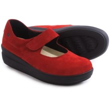 Wolky Lundy Mary Jane Shoes - Leather (For Women) in Red - Closeouts