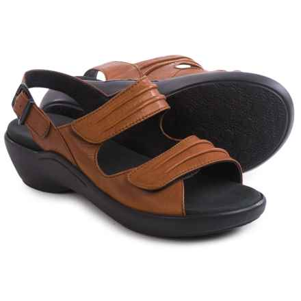 Wolky Mandalay Sandals - Leather (For Women) in Sienna - Closeouts
