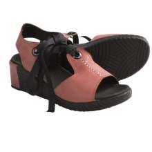 Wolky Mawenzi Wedge Sandals (For Women) in Sienna - Closeouts