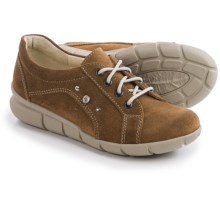 Wolky Niobe Leather Sneakers (For Women) in Bison Suede - Closeouts