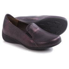 Wolky Perls Shoes - Leather (For Women) in Purple Tevino - Closeouts