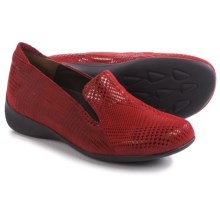 Wolky Perls Shoes - Leather (For Women) in Red Dessin - Closeouts