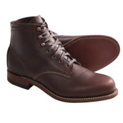 Wolverine 1000 Mile Lace-Up Boots - Factory 2nds, Leather (For Men) in Brown
