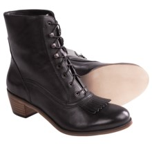Wolverine 1000 Mile Nesbit Kiltie Boots - Factory 2nds (For Women) in Black - 2nds