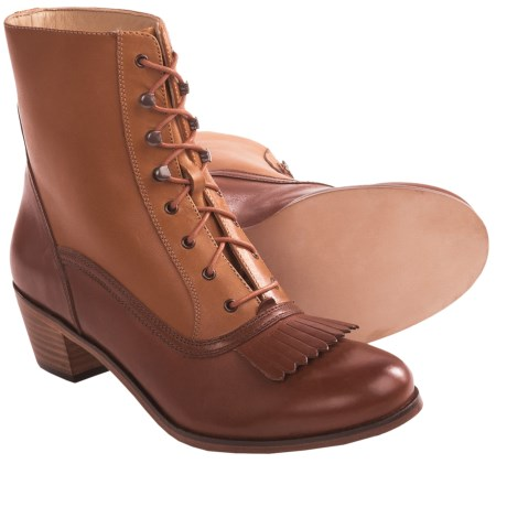 Wolverine 1000 Mile Nesbit Kiltie Boots - Factory 2nds (For Women) in Black