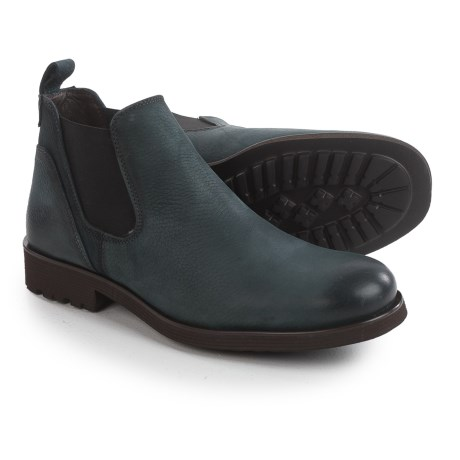Wolverine 1883 Eckins Chelsea Boots - Slip-Ons (For Men) in Black