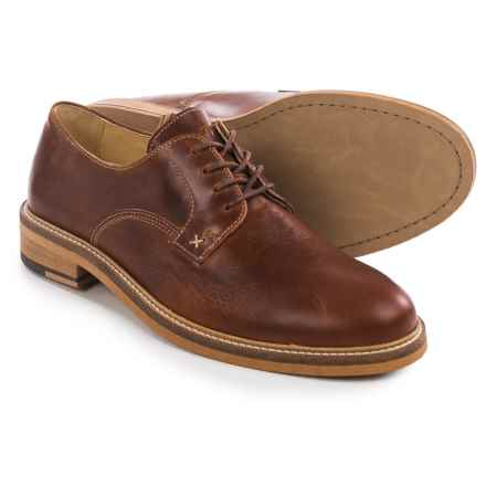 Wolverine 1883 Henrik Oxford Shoes - Leather, Plain Toe (For Men) in Brown - Closeouts