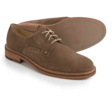 Wolverine 1883 Henrik Oxford Shoes - Leather, Plain Toe (For Men) in Taupe - Closeouts