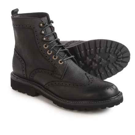 Wolverine 1883 Percy Boots - Leather (For Men) in Black - Closeouts