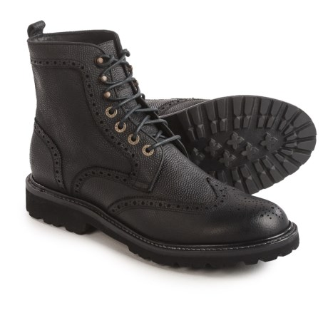 Wolverine 1883 Percy Boots - Leather (For Men) in Black