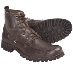 Wolverine Algonquin Chukka Boots - Leather (For Men) in Dark Grey
