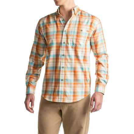 Wolverine Archer Shirt - UPF 25+, Long Sleeve (For Men) in Tangerine - Overstock