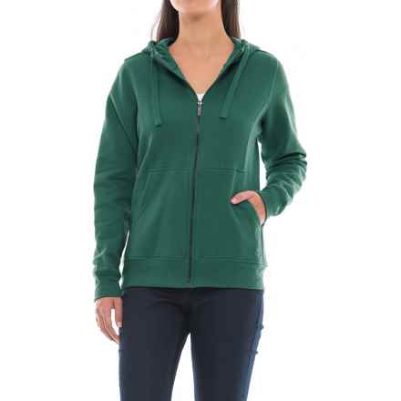 Wolverine Ashland Full-Zip Hoodie (For Women) in Emerald - Closeouts