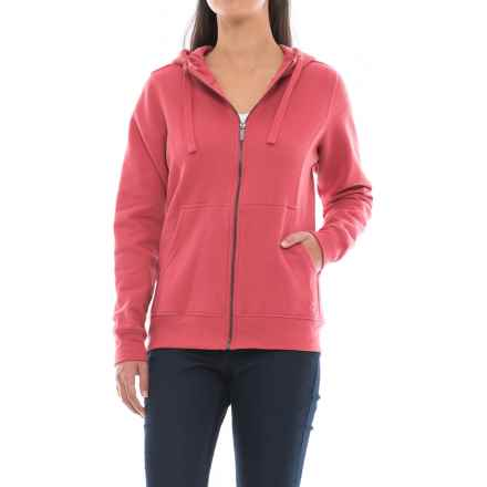 Wolverine Ashland Full-Zip Hoodie (For Women) in Rose - Closeouts