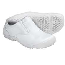 Wolverine Aurora iCS Slip-Resistant Clogs - Leather (For Women) in White - Closeouts