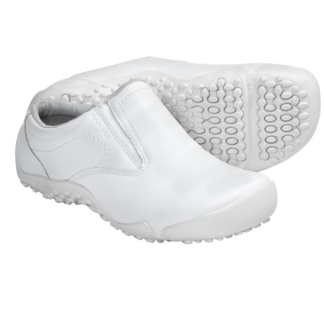 Wolverine Aurora iCS Slip-Resistant Clogs - Leather (For Women) in White