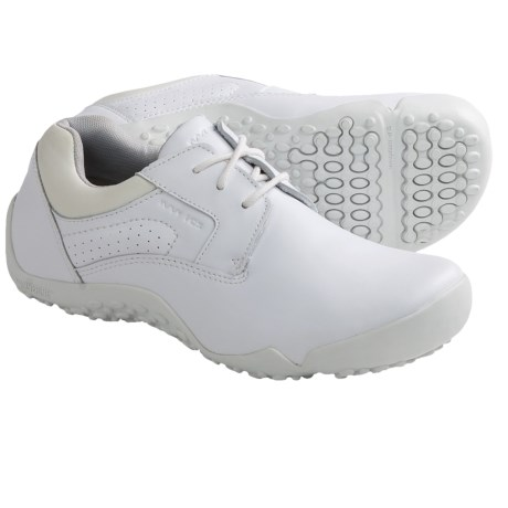 Wolverine Aurora iCS Slip-Resistant Oxford Shoes - Leather (For Women) in White