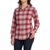 Wolverine Aurora Plaid Flannel Shirt - Long Sleeve (For Women)