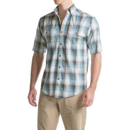 Wolverine Ausbin Shirt - Short Sleeve (For Men) in Cadet Blue - Overstock
