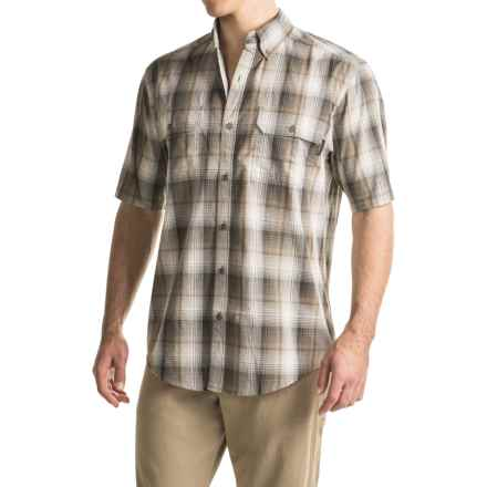 Wolverine Ausbin Shirt - Short Sleeve (For Men) in Charcoal - Overstock
