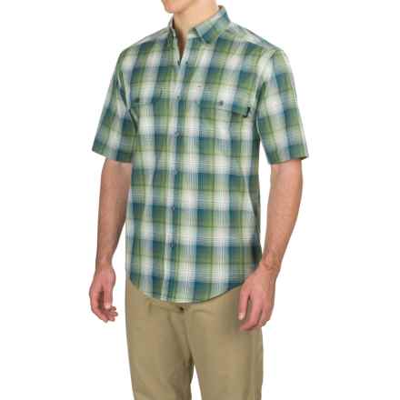 Wolverine Ausbin Shirt - Short Sleeve (For Men) in Dill - Overstock