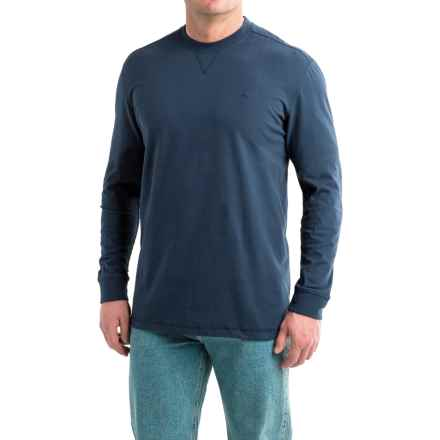 Wolverine Benton II Tech T-Shirt - Long Sleeve (For Men and Big Men) in Navy - Overstock