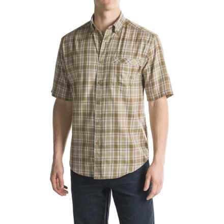 Wolverine Berkhart Shirt - Short Sleeve (For Men) in Khaki - Overstock