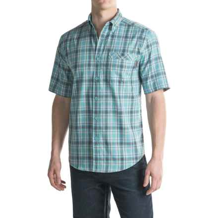 Wolverine Berkhart Shirt - Short Sleeve (For Men) in Pacific - Overstock
