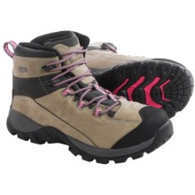 Wolverine Black Ledge LX Work Boots - Waterproof, Leather (For Women) in Wild Dove/Pink - Closeouts