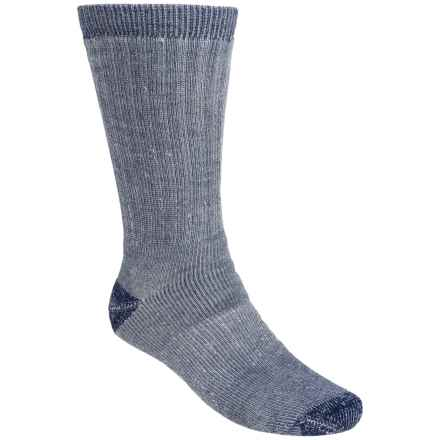 Wolverine Boot Socks - 2-Pack, Crew (For Men) in Navy - Closeouts