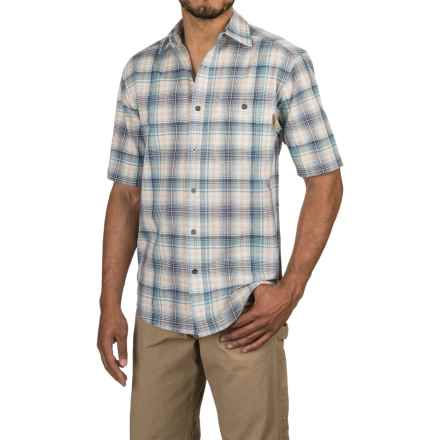 Wolverine Boswick Shirt - Short Sleeve (For Men) in Cadet Blue - Overstock
