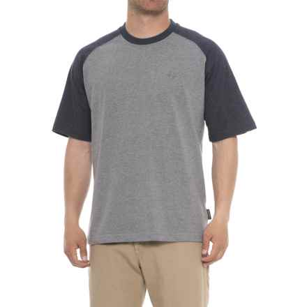 Wolverine Brower Raglan T-Shirt - Short Sleeve (For Men) in Navy - Closeouts