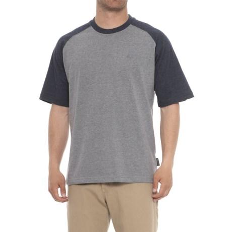 Wolverine Brower Raglan T-Shirt - Short Sleeve (For Men) in Navy