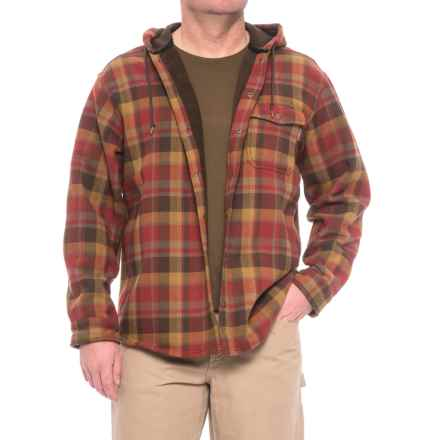 Wolverine Bucksaw Bonded Shirt Jacket (For Men) in Cinnamon - Closeouts