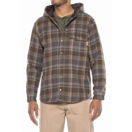 Wolverine Bucksaw Bonded Shirt Jacket (For Men) in Granite - Closeouts