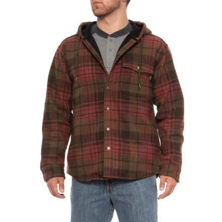 Wolverine Bucksaw Shirt Jacket (For Men) in Spice Plaid - Closeouts