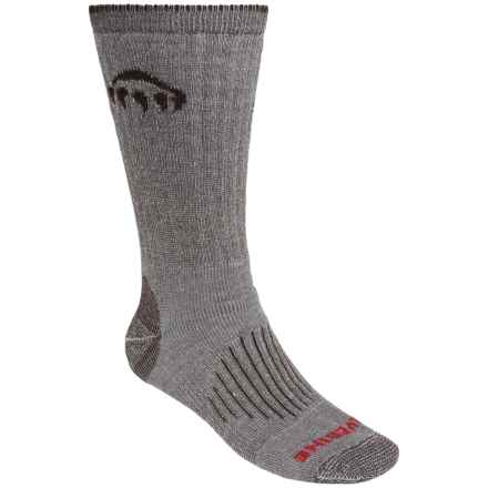 Wolverine Comfort Wool Socks - 2-Pack, Mid Calf (For Men) in Brown - Closeouts