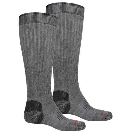 Wolverine Comfortwool Socks - 2-Pack, Over the Calf (For Men) in Black - Closeouts
