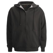 Wolverine Darby II Hooded Sweatshirt - Full Zip (For Men) in Black - Closeouts