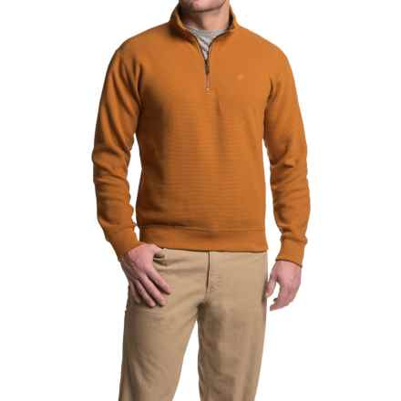 Wolverine Denton Shirt - Zip Neck, Long Sleeve (For Men) in Ginger - Closeouts