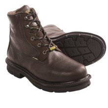 "Wolverine DuraShocks Fusion Work Boots - Steel Toe, 6"" (For Men) in Chocolate - Closeouts"