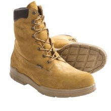 "Wolverine DuraShocks Trappeur Hiker Boots - 8"", Waterproof, Insulated (For Men) in Gold - 2nds"