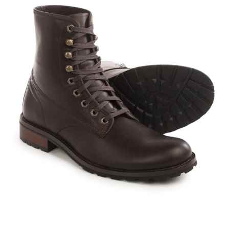 Wolverine Dwayne Boots - Leather (For Men) in Dark Brown - Closeouts