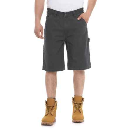 "Wolverine Eaton Ripstop Shorts - 11"" (For Men) in Granite - Closeouts"
