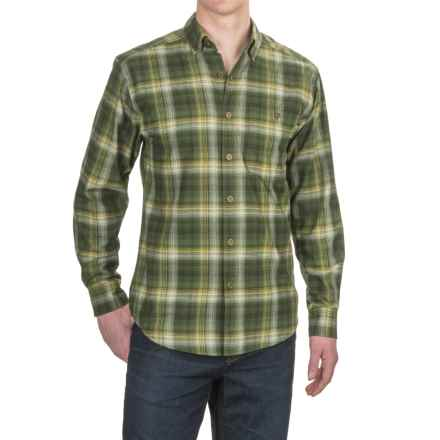 Wolverine Elkhart Shirt - Long Sleeve (For Men) in Dark Olive - Overstock